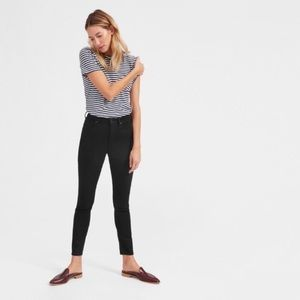 Everlane The High-Rise Black Ankle Jean